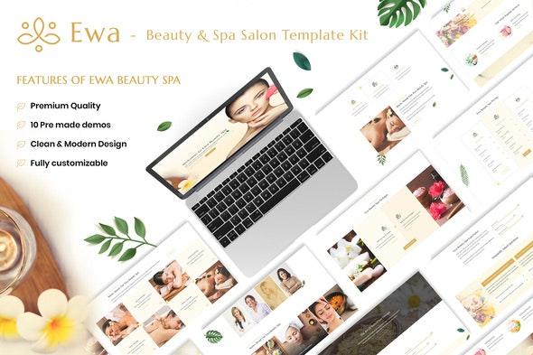 Ewa - Beauty & Spa Salon Elementor Template Kit - Fashion & Beauty Elementor