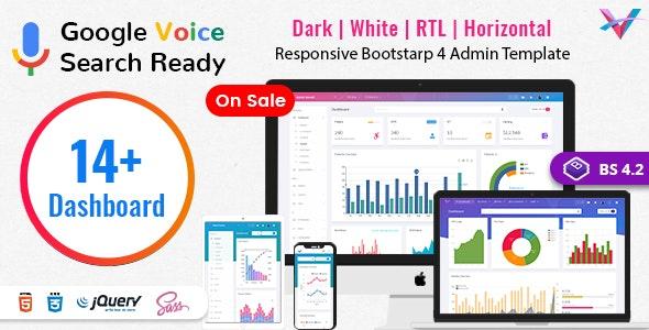 VoiceX - Bootstrap Admin Dashboard Template - Admin Templates Site Templates