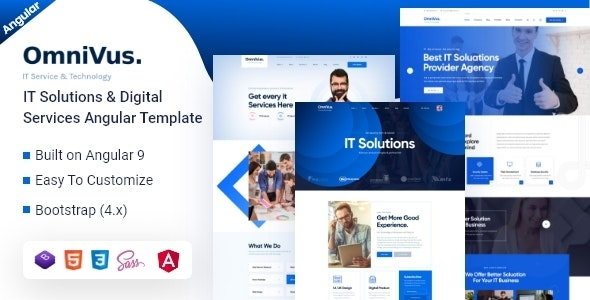 Omnivus -  IT Solutions & Digital Services Angular Template - Business Corporate