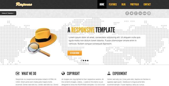 Response - Responsive Html5 Template