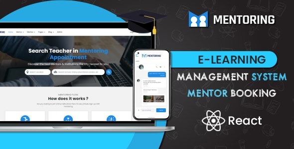 Mentoring - Learning Management System React Template (ReactJS) - Business Corporate