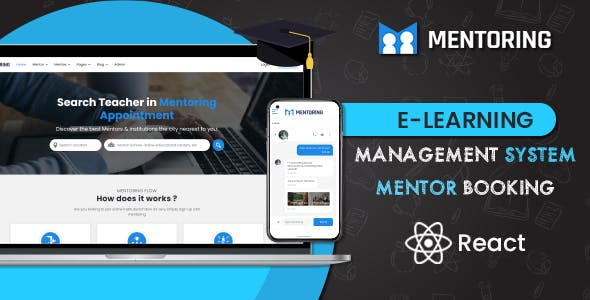 Download Mentoring - Learning Management System React Template (ReactJS)