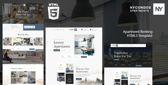 Nycondos - Apartments Rental HTML 5 Template - Business Corporate