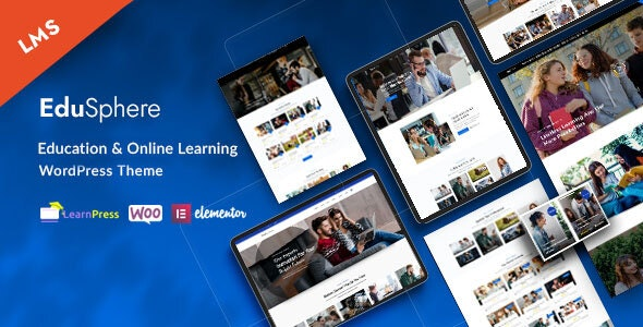 EduSphere - Education & Online Learning WordPress Theme - Education WordPress