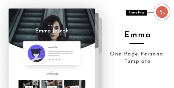 Download Emma - Personal Portfolio