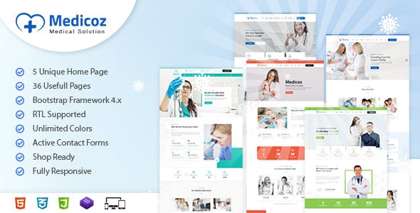 Download Medicoz | Clinic & Hospital HTML Template