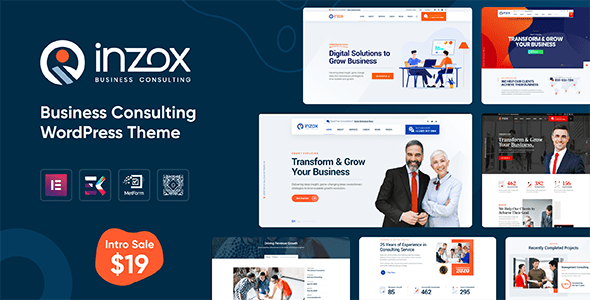 Download Inzox - Business Consulting WordPress Theme