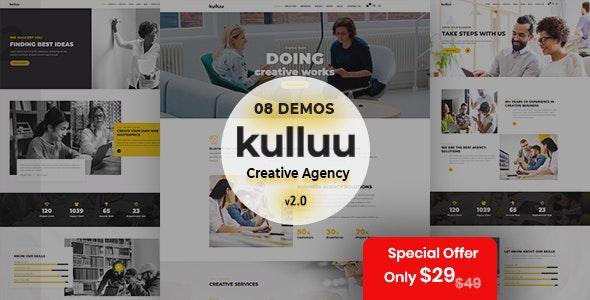 Kulluu - Creative Agency WordPress Theme - Creative WordPress