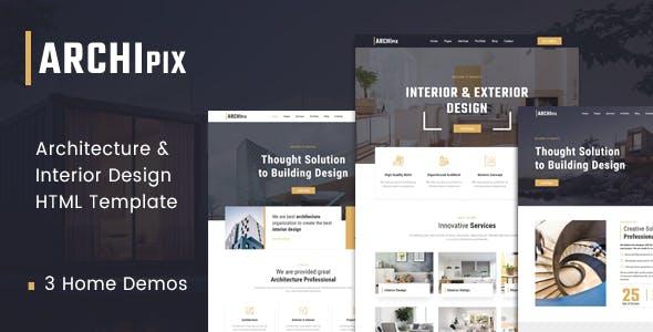 Download Archipix - Architecture & Interior Design HTML Template