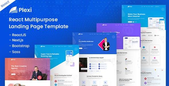 Download Plexi - React Multipurpose Landing Page Template
