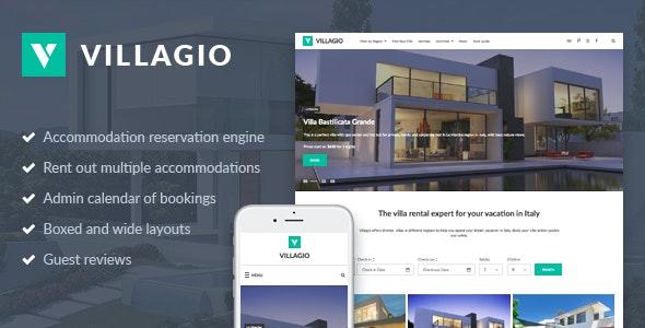 Vacation Rental WordPress Theme - Villagio - Real Estate WordPress