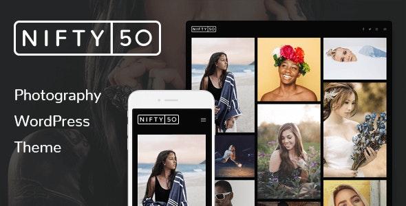 WordPress Photography Theme - Nifty Fifty - Photography Creative