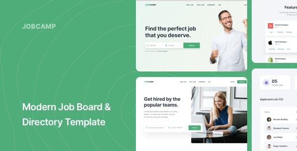 Download Jobcamp - Job Board & Directory Responsive Template