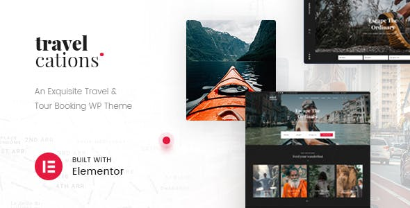 Download Travelcations - Advanced Tour Elementor Theme