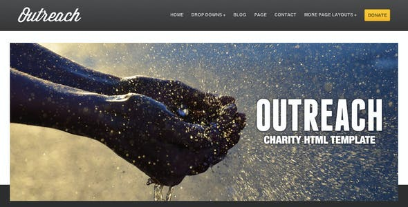 Outreach - Charity HTML Template