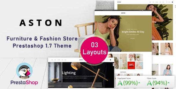 Aston - Fashion Ecommerce Prestashop Theme for Furniture & Clothes - Fashion PrestaShop