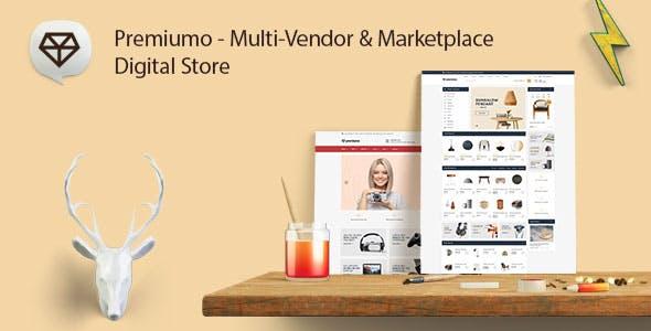 Premiumo   Multi-Vendor & Marketplace   Digital Store