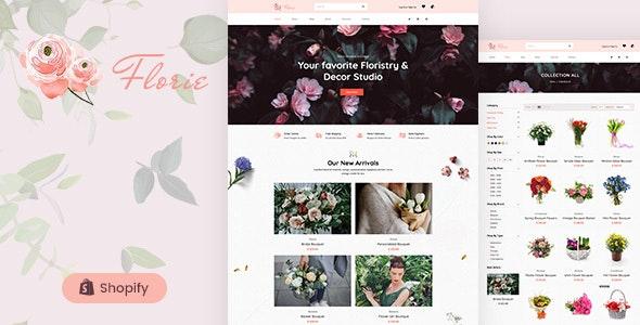 Florie - Flower Shop, Florist Shopify Theme - Shopify eCommerce