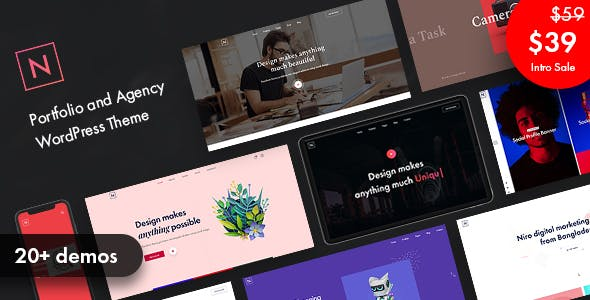 Download Niro - Creative Agency & Portfolio WordPress Theme