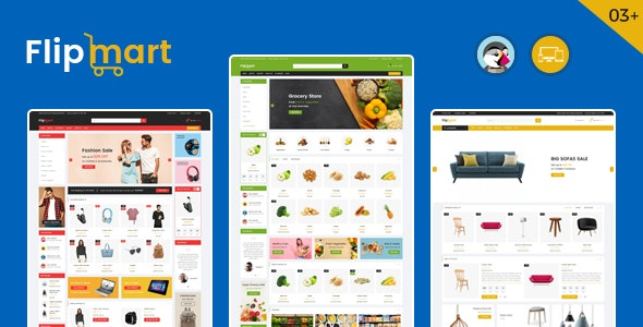 Flipmart - Supermarket Prestashop Theme - Shopping PrestaShop
