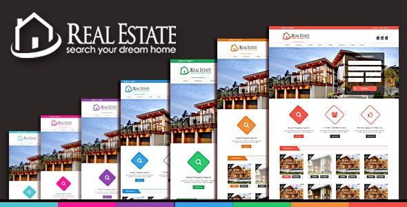 Real Estate Html Templete - Corporate Site Templates