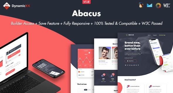 Abacus - Responsive Email + Online Template Builder - Email Templates Marketing