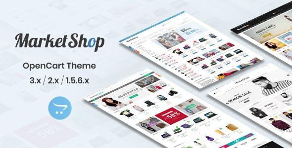 MarketShop - Multi-Purpose OpenCart Theme