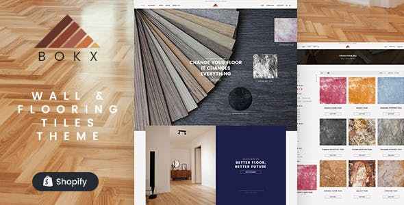 Bokx - Tiling and Flooring Shopify Theme