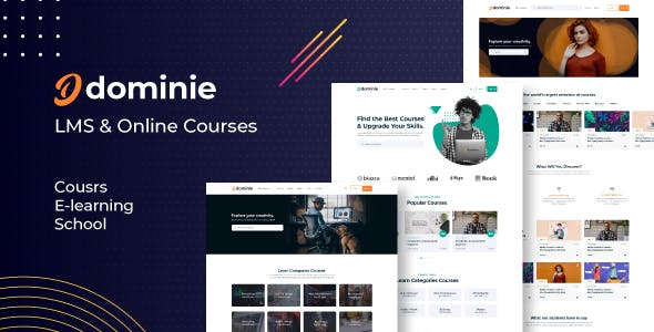 Download Dominie - LMS & Online Courses HTML Template
