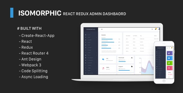 Isomorphic - React Admin Template with Redux