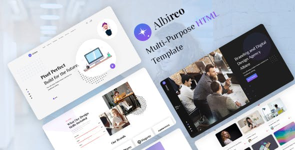 Download Albireo - Creative One Page HTML5 Template