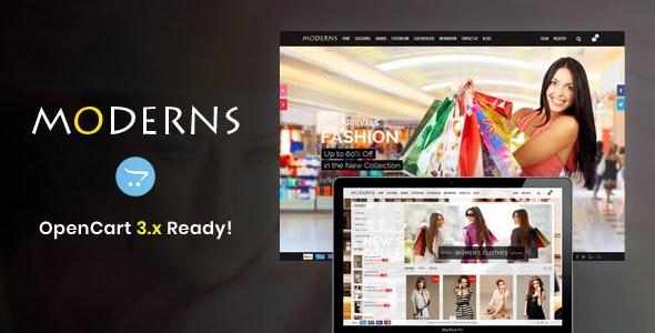 Moderns - OpenCart Theme - OpenCart eCommerce