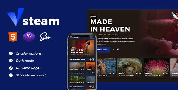 Download vStream - Video Streaming App Template