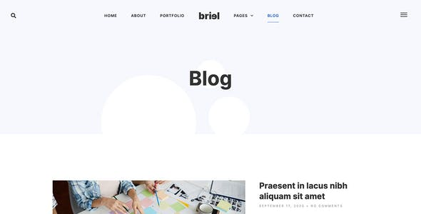 Briel - Digital Marketing Agency Elementor Template Kit
