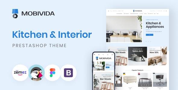 Mobivida - Kitchen and Interior Prestashop Theme