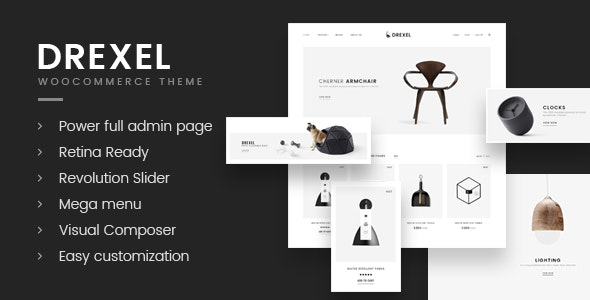 Drexel - WooCommerce Responsive Furniture Theme - WooCommerce eCommerce
