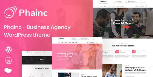 Phainc - Business Agency WordPress Theme - Business Corporate