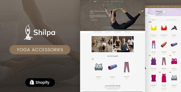 Shilpa - Yoga Store & Fitness Shopify Theme - Health & Beauty Shopify