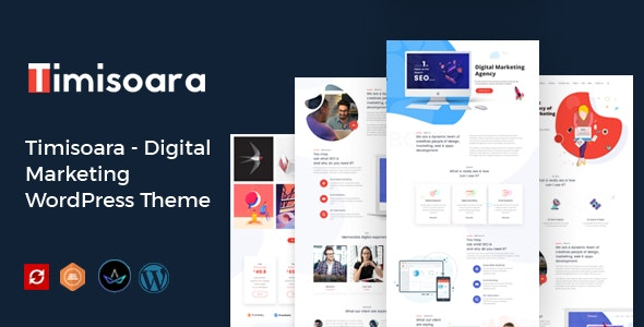 Timisoara - Digital Marketing WordPress Theme - Portfolio Creative
