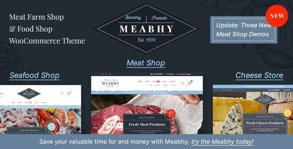 Meabhy - Meat Farm & Food Shop - WooCommerce eCommerce