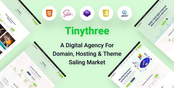 Download Miyami- Domain hosting html template