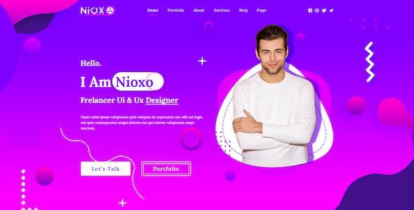 Nioxo-One Page Portfolio