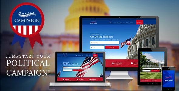 Campaign - Your Political WordPress Theme - Political Nonprofit