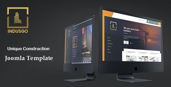 IndusGo - Construction Joomla Template - Business Corporate