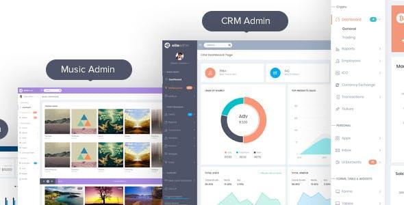 Elite Admin - Bootstrap 4 Dashboard template