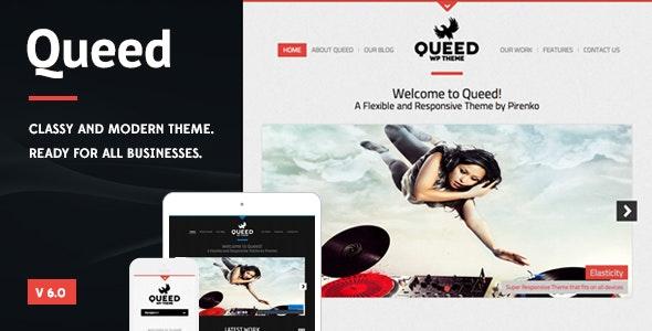 Queed - Business WordPress Theme - Portfolio Creative