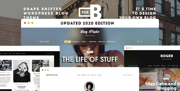 TheBlogger WordPress Theme - Personal Blog / Magazine