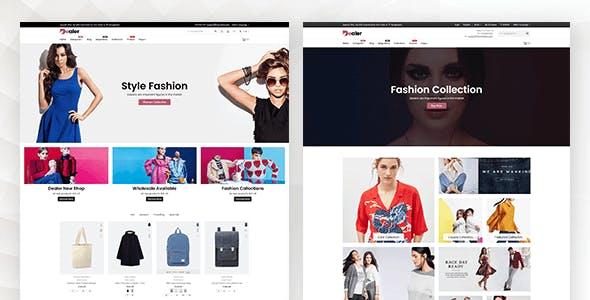 Dealer - Multipurpose Responsive Shopify Theme