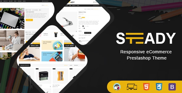 Steady - Stationary Prestashop Theme - Shopping PrestaShop