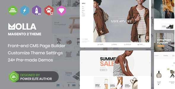 Molla - Multipurpose Magento 2 Theme - Shopping Magento